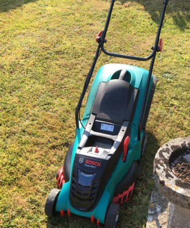 Bosch cordless mower review