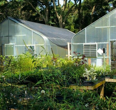 Best Small a greenhouse heaters. Two greenhouses with winter protection