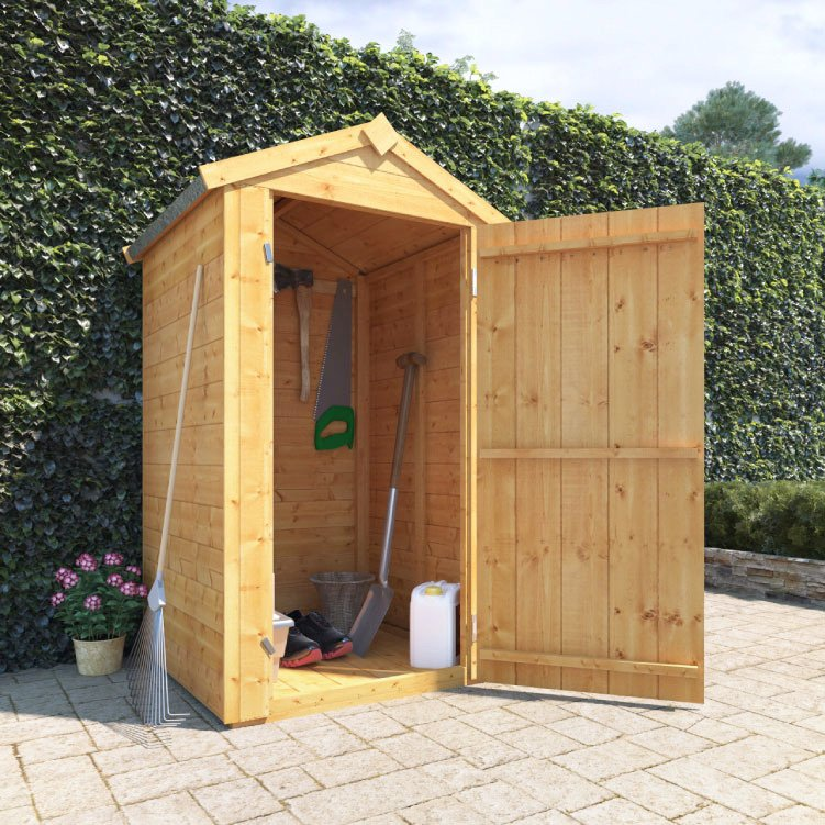 Sentry Box Style Garden Shed