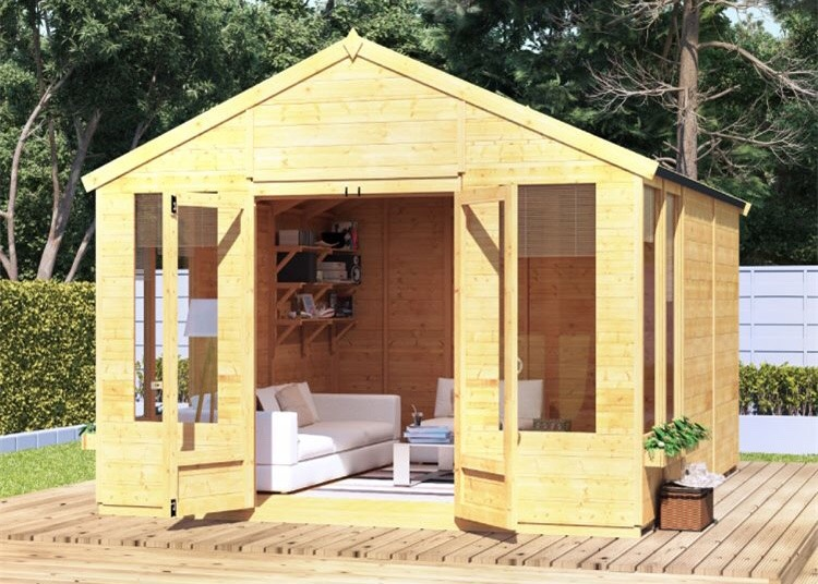 Large Wooden Summer House