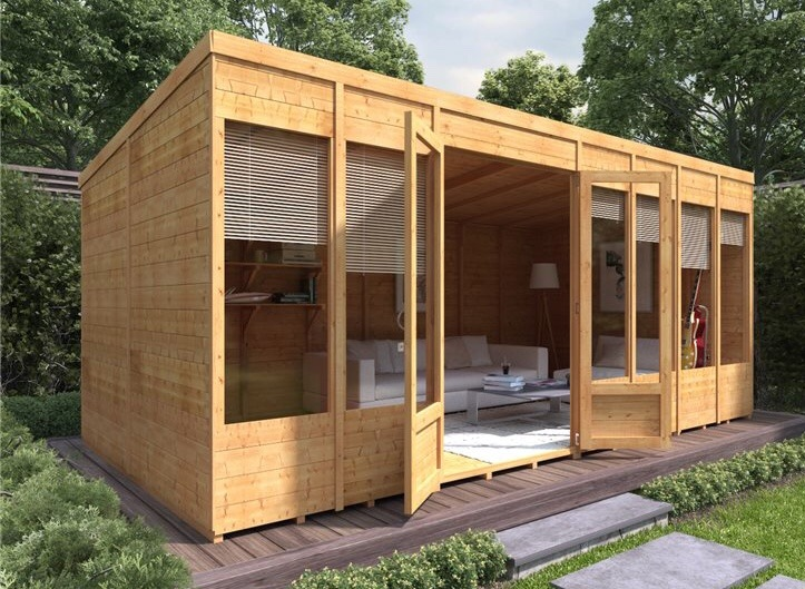 Pent Roof Summer house