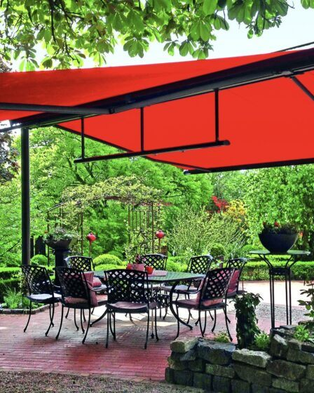 Freestanding garden awning. Why an awning is the perfect addition to your garden