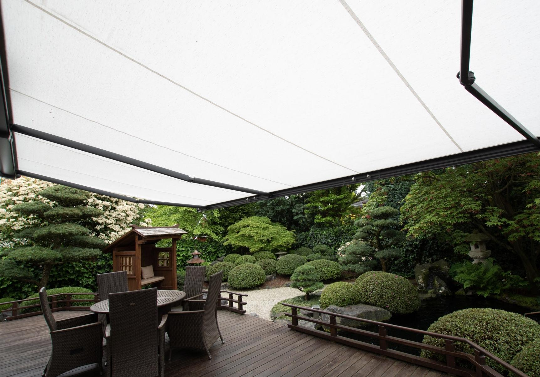 Perfect garden awnings. The benefits of a garden awning.