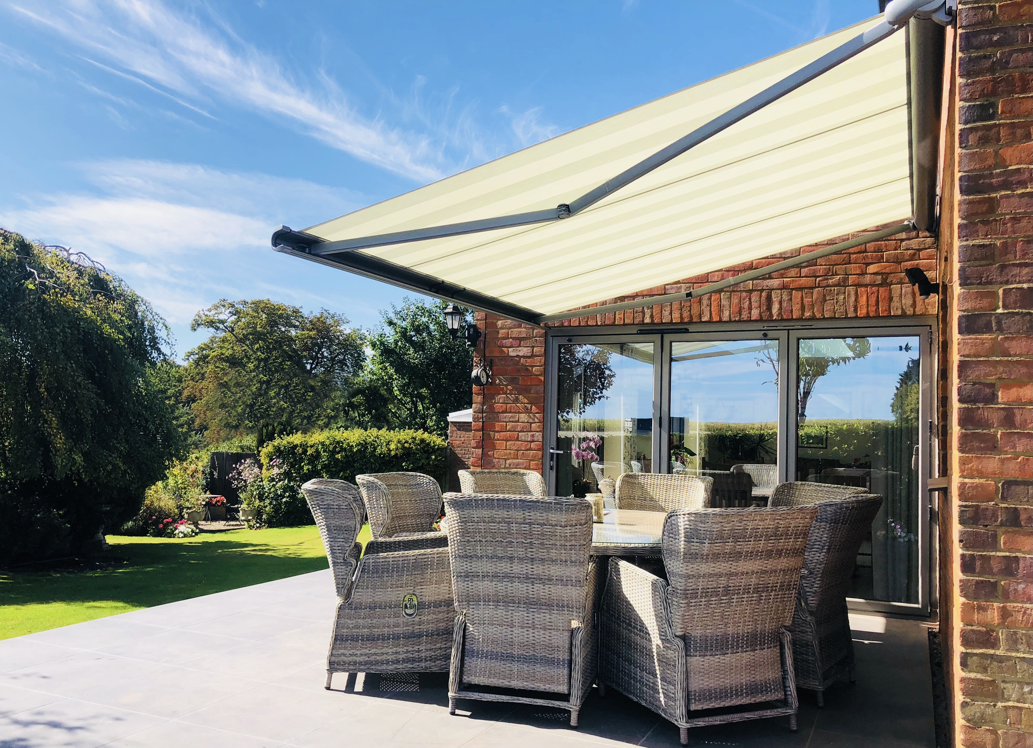 Why an awning is the perfect addition to your garden